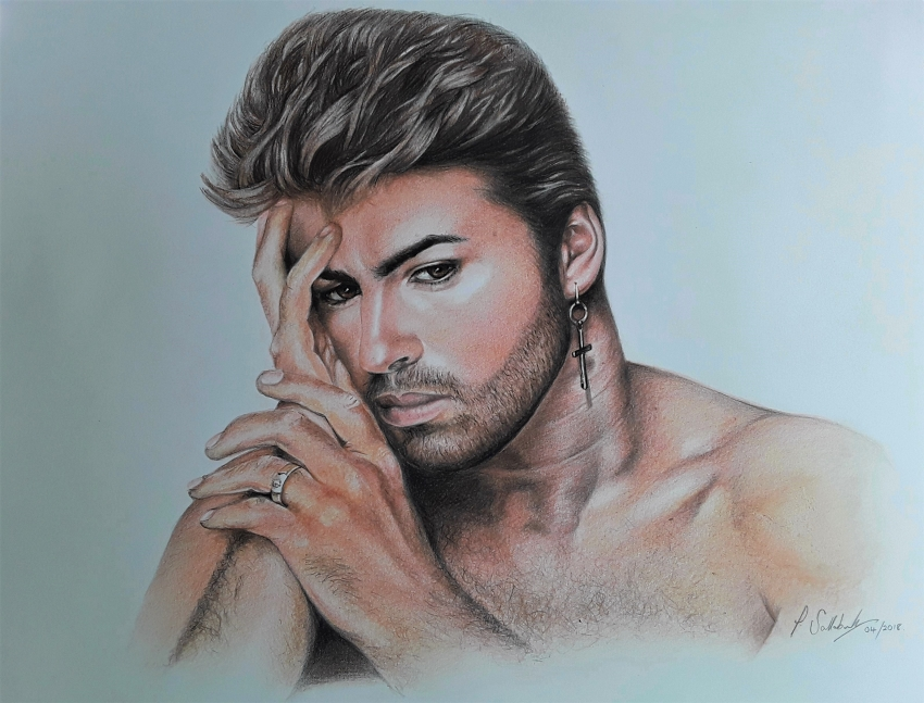George Michael by Sazz